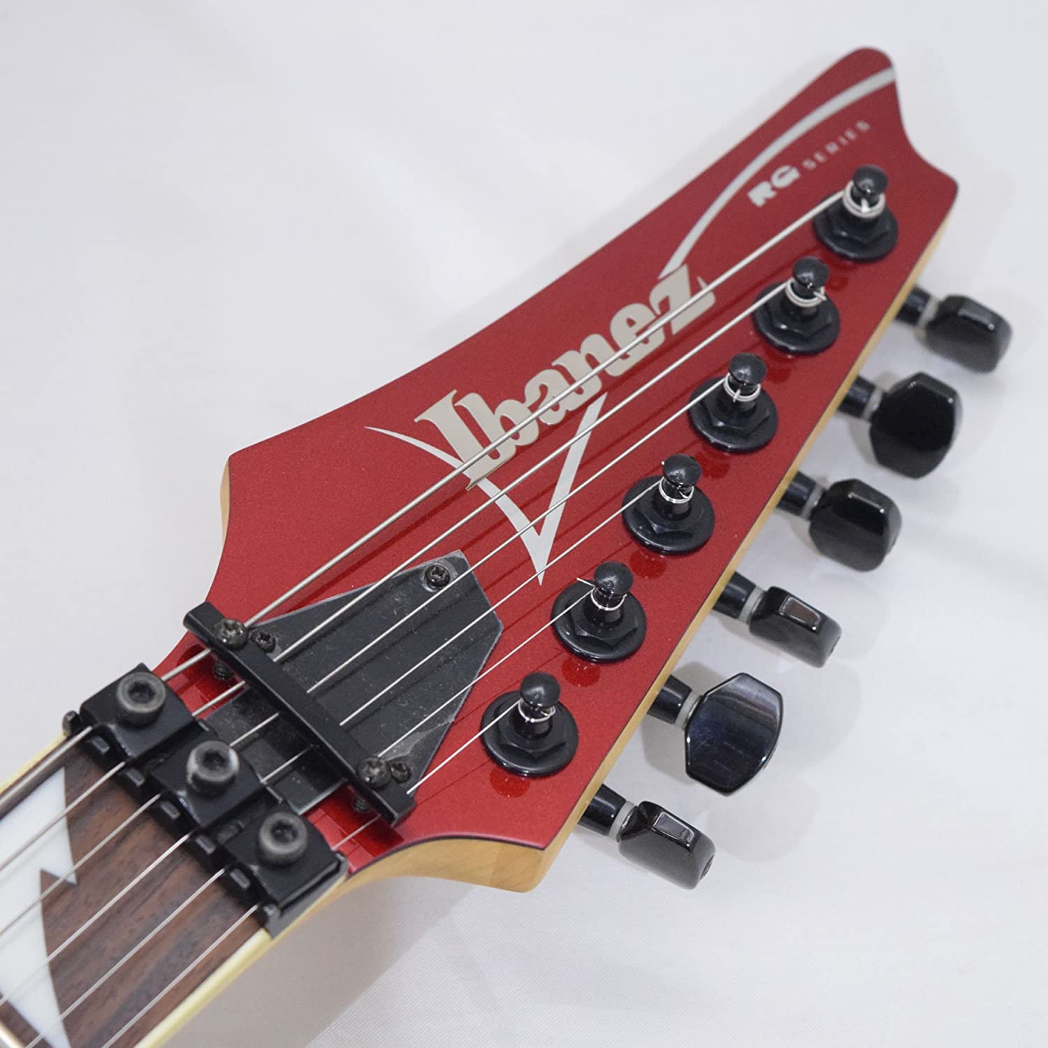 second hand ibanez rg370dx in red musical instruments