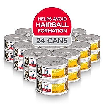 Amazon.com: Hills comida para gato para control de bolas de ...