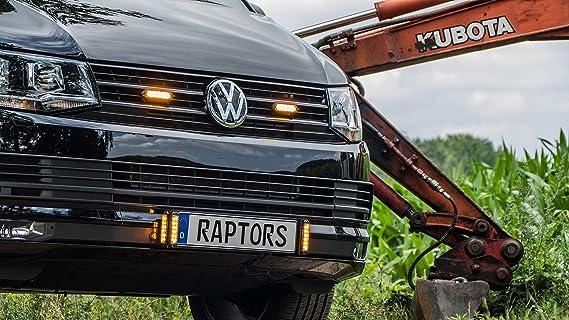 Frontblitzer Raptor Xm6 Mit Zulassung Ece R65 Kreuzungsblitzer Frontblitzer Für Einsatzfahrzeuge Oder Baufahrzeuge Heckblitzer Heckwarnsystem Auto
