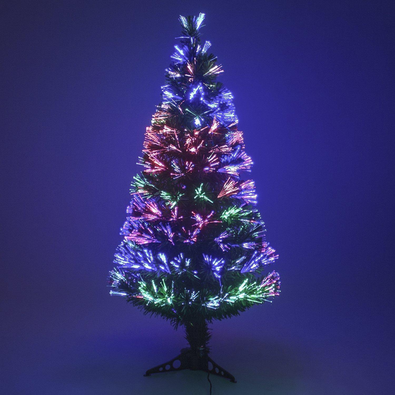 Multi Colour Fibre Optic Christmas Xmas Tree Colour Changing Classic
