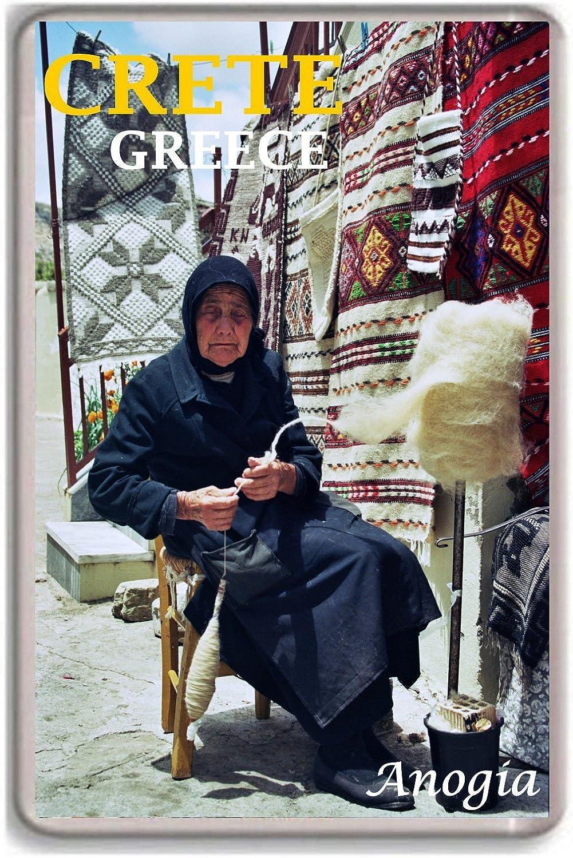 Crete Greece fridge magnet..!!! Aimant de r/éfrig/érateur