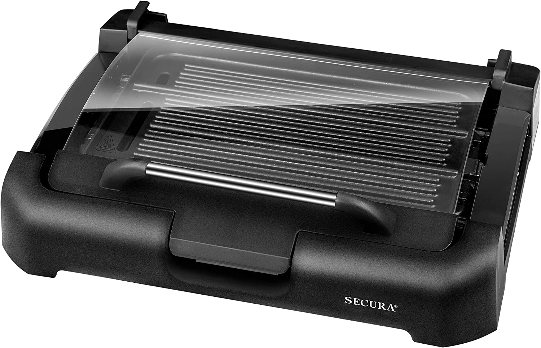 Secura Smokeless Indoor Grill 1800-Watt Electric Griddle