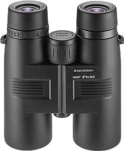 Eschenbach Arena D+ 8x42 Binoculars for Adults for Bird watching - High Power Optics Waterproof Fogproof Black 24.3 oz