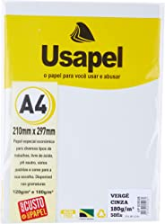Papel A4 Verge Usapel, Filiperson, Cinza