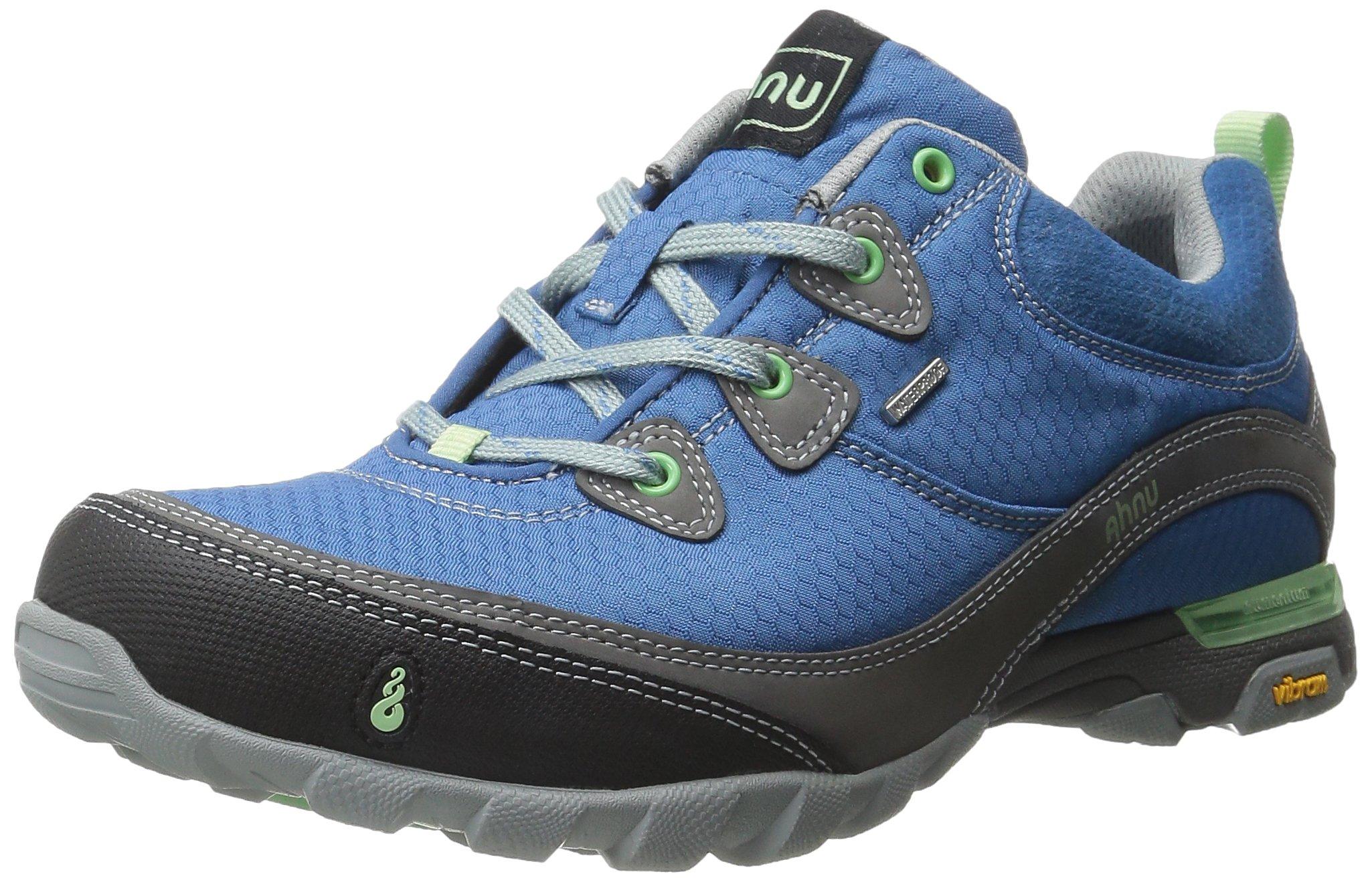 Ahnu Women's Sugarpine Waterproof Hiking Shoe, Bluestar, 6 M US