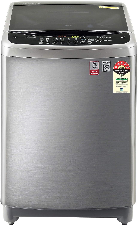 LG 10 Kg Inverter Fully-Automatic Top Loading Washing Machine – T10SJSS1Z