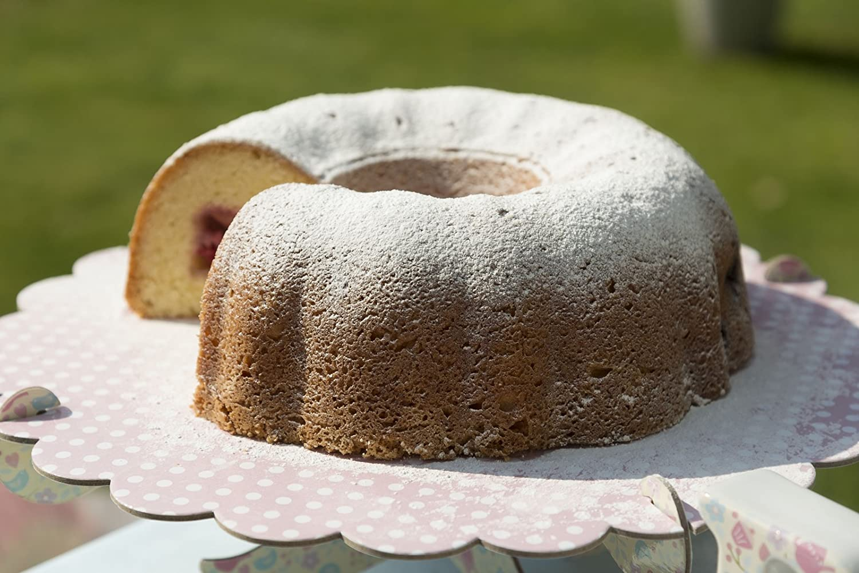 9 x 5 masterclass Non-Stick Fluted Ring Cake Tin 27 cm 23 x 13 cm /& Non-Stick 2 lb Loaf Tin 10