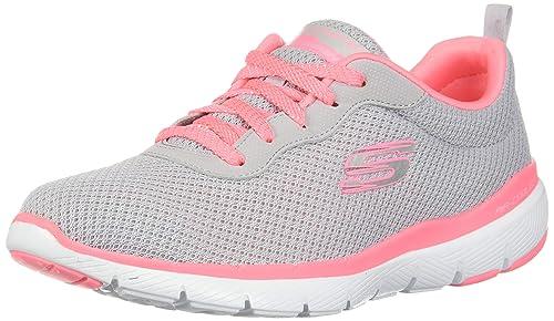Skechers Flex Appeal 2.0 Shoe For Women (Pink 37.5 EU)