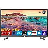 Daiwa D32C4S 80 cm ( 32 ) Smart HD Ready (HDR) LED Television with Web Flirt remote (Black)