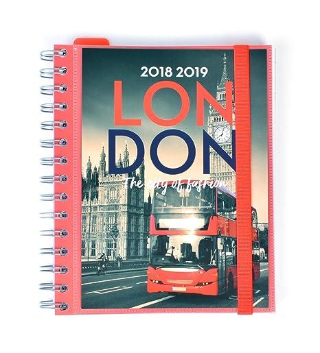 Grupo Erik Editores - Agenda escolar London 2018/2019 Semana ...