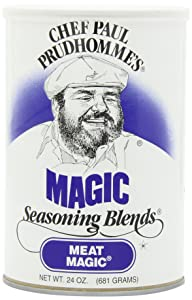 Chef Paul Meat Magic Seasoning, 24-Ounce Canisters (Pack of 2)