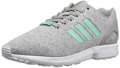 info for 46d0c fbcc9 adidas Originals Women s Shoes   ZX Flux Fashion Sneakers, Medium Grey  Heather Easy Mint