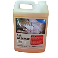 ROYAL CAR CARE PRODUCTS - CAR DETAILING & CLEANING -CAR WASH SHAMPOO WITH WAX - 4LTR