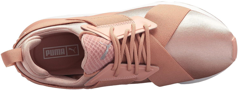 PUMA 10 Women's Muse Satin En Pointe Wn Sneaker B071K7FKCH 10 PUMA B(M) US|Peach Beige-puma White 5099ac