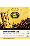 Natures Path Organic Gluten Free Selections Dark Chocolate Chip Chewy Granola Bar, 6.2 Ounce -- 6 per case.