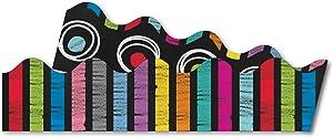 Carson Dellosa Colorful Chalkboard Scalloped Borders (108196)