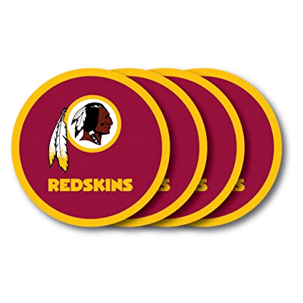 Amazon.com: NFL Washington Redskins – Posavasos (Juego de 4 ...