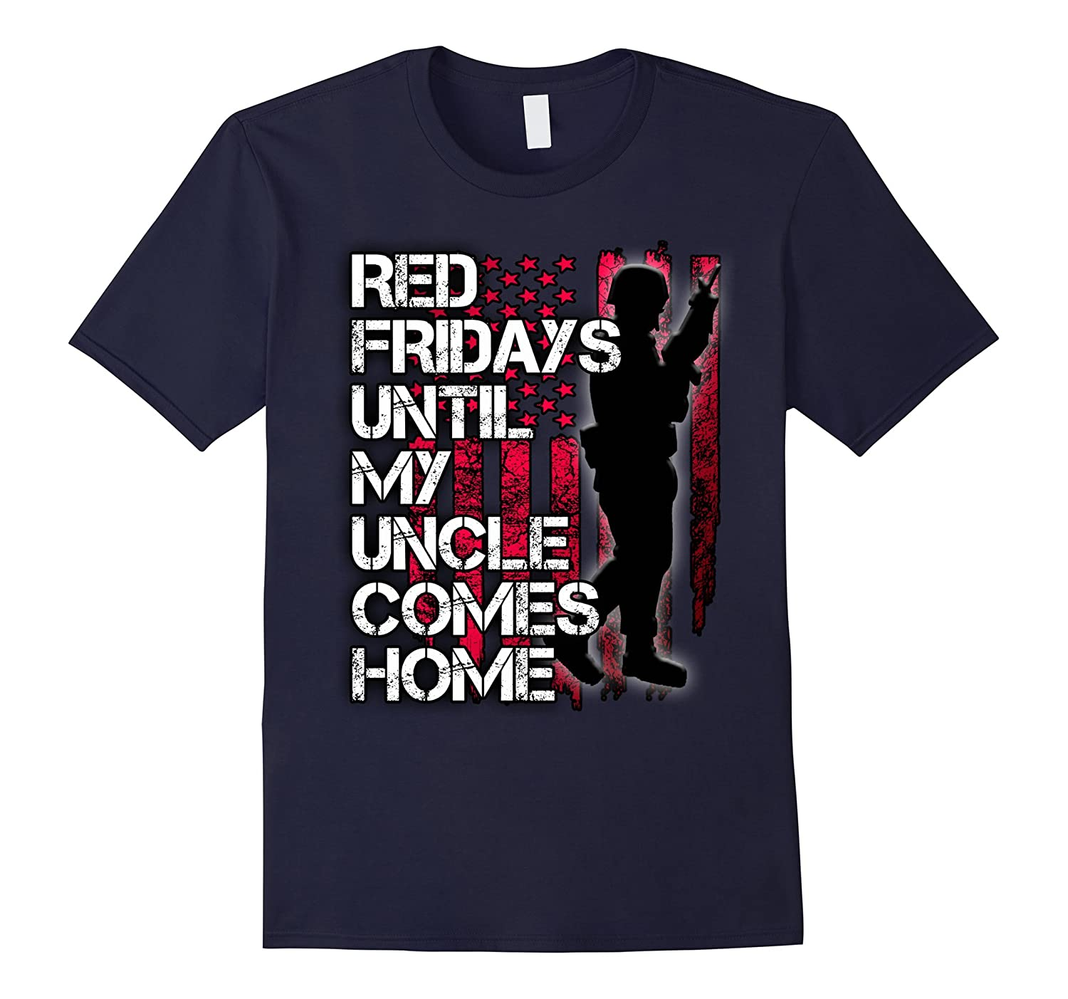 Red military shirt – Red Fridays for Deployed Uncle