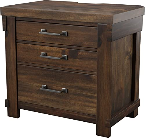 Signature Design by Ashley B718-93 Lakeleigh Night Stands, Brown Nightstand
