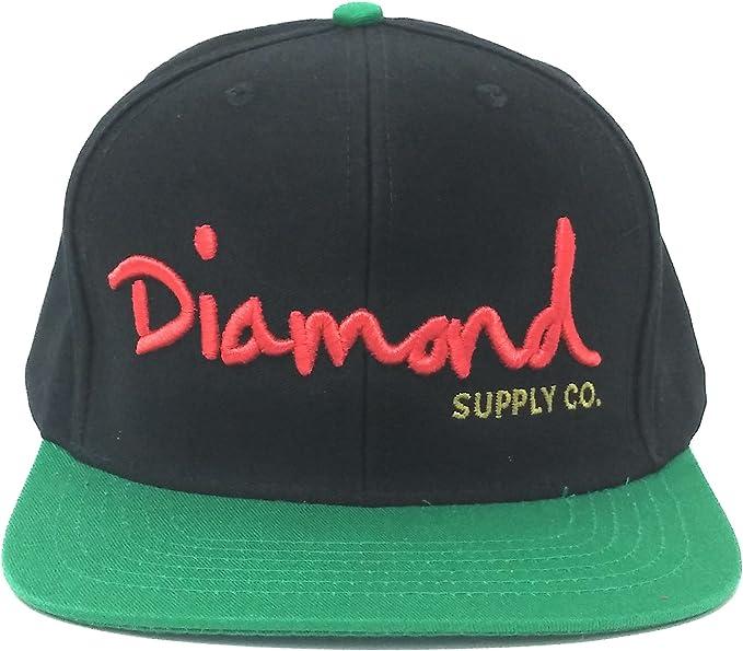 DIAMOND SUPPLY CO OG 1998 NAVY SNAPBACK CAP