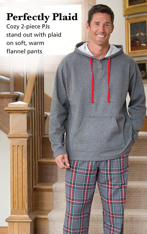 Multicolored PajamaGram Mens Pajamas for Men Mens Flannel Pajamas Sets