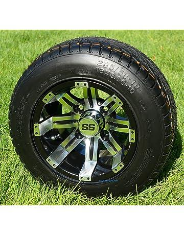 Amazon Com Golf Cart Tire Wheel Assemblies Automotive