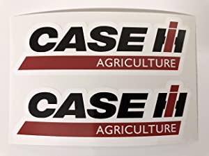 2 Case IH Agriculture Color Decals