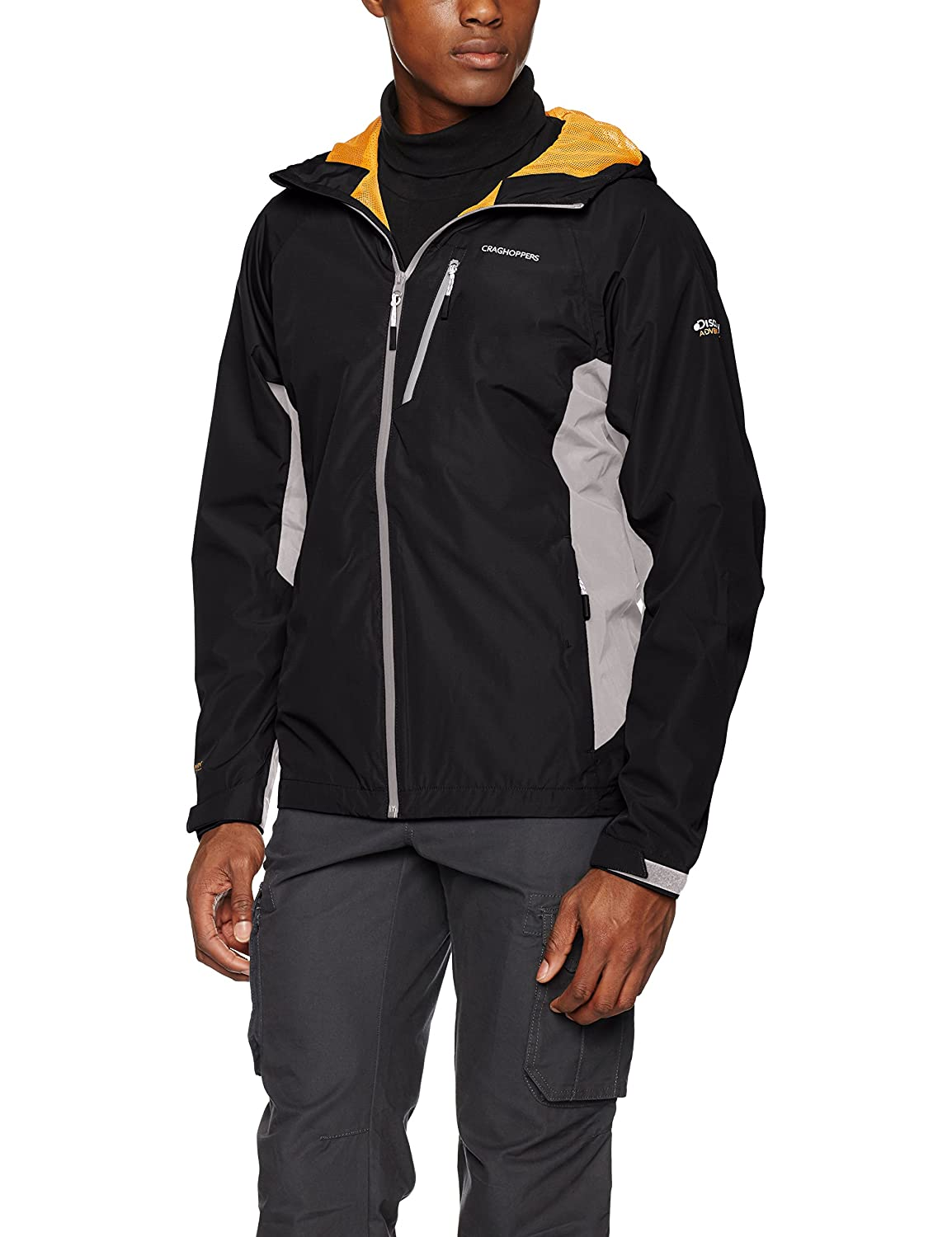 35c880a36b4b8 Craghoppers Men's Discovery Adventures Waterproof Jacket: Amazon.co.uk:  Sports & Outdoors