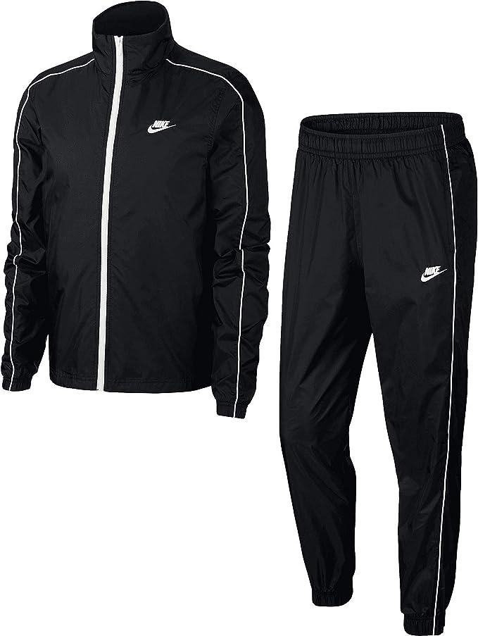 Chándal Nike Woven, Otoño-invierno 19., Hombre, color blanco/negro ...