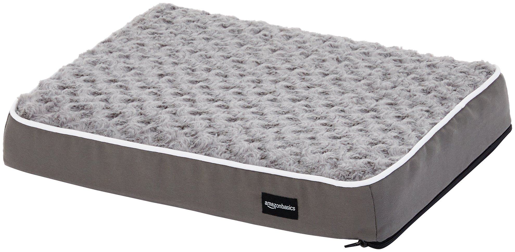 AmazonBasics Ergonomic Foam Pet Bed For Cats or Dogs 3