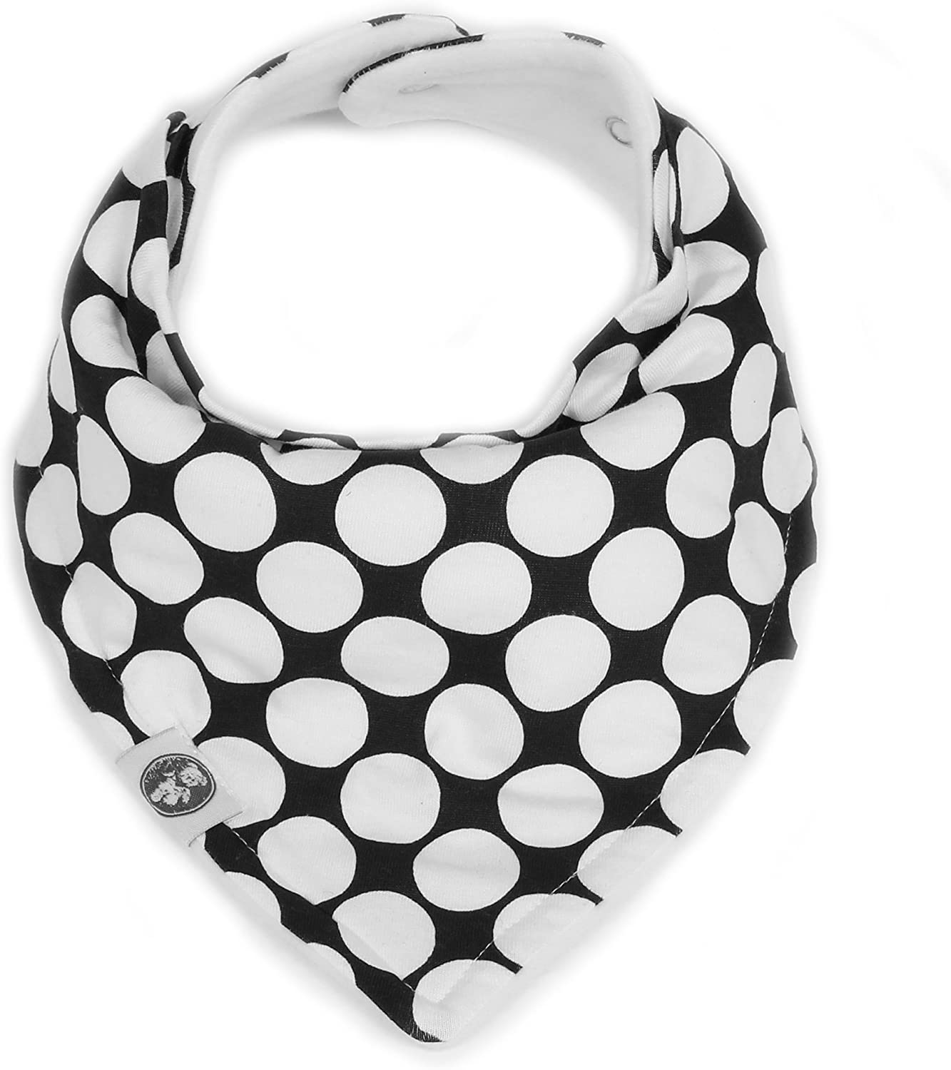 "Baby Bandana Drool Bibs for Girls 6 Pack /""Monochrome Set/"" by Mumby"