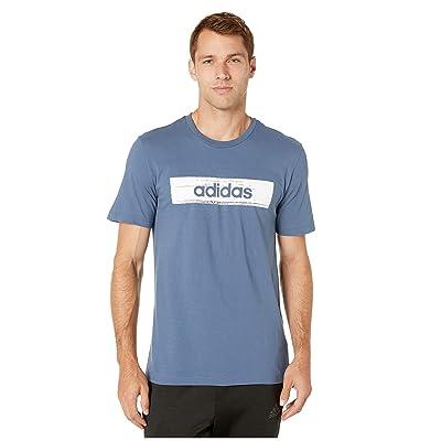adidas Men's Box Graphic Tee: Clothing