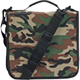 Blue Donuts 288 Capacity CD/DVD Binder Storage Holder Organizer Carrying Case, Camo