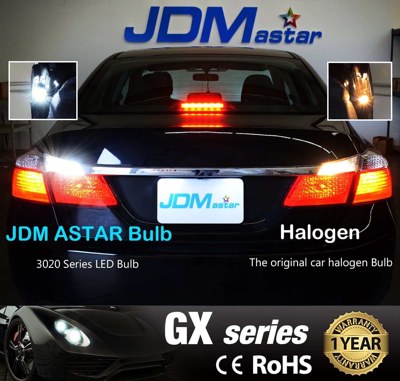 Xenon White JDM ASTAR 2000 lumens Extremely Bright Error Free 360-Degree Shine 921 912 GX-3020 Chipsets LED Bulbs For Backup Reverse Lights