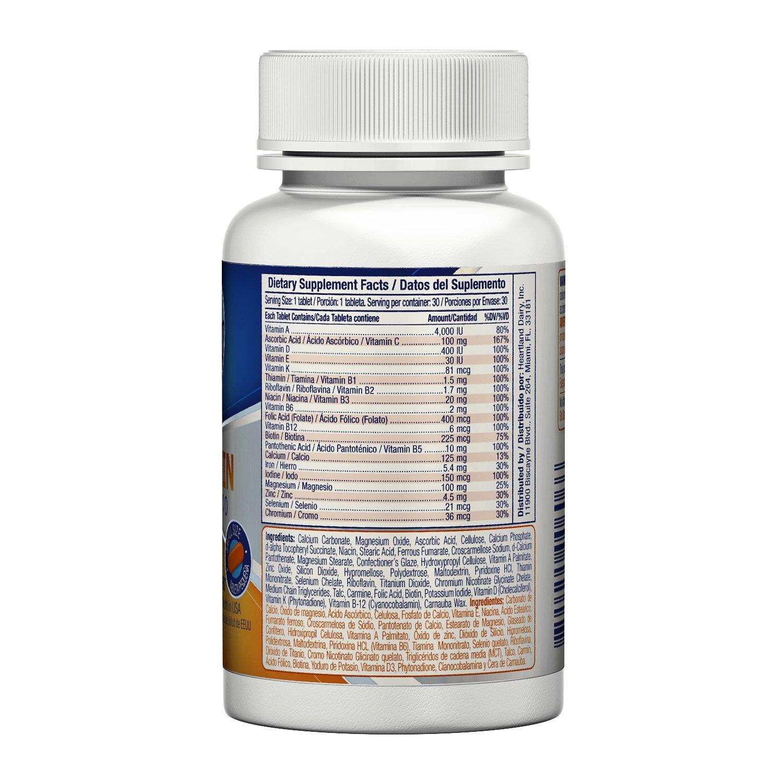 Amazon.com: ActiSky Multivitamin Essentials, 30 Tablets: Health & Personal Care