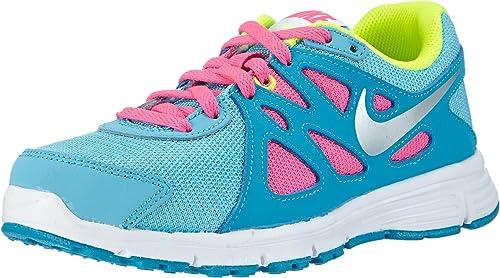 Nike Revolution 2 GS, Zapatillas de Running para Niñas, Azul ...