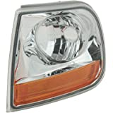MERCEDES E Class W123 1976-1984 Corner Lamps Turn Signals Chrome Clear PAIR
