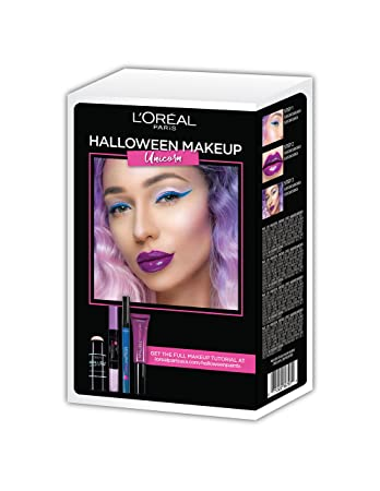 Image Unavailable. Image not available for. Color: L'Oreal Paris Cosmetics Halloween Makeup Unicorn Kit