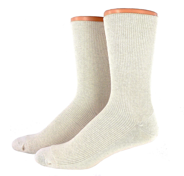 Herren Öko Baumwoll Socken ohne Gummi