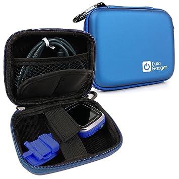 DURAGADGET Funda Azul Compatible con Vtech Kidizoom Smartwatch/DX + Mini Mosquetón para Colgarla Donde Desee: Amazon.es: Electrónica