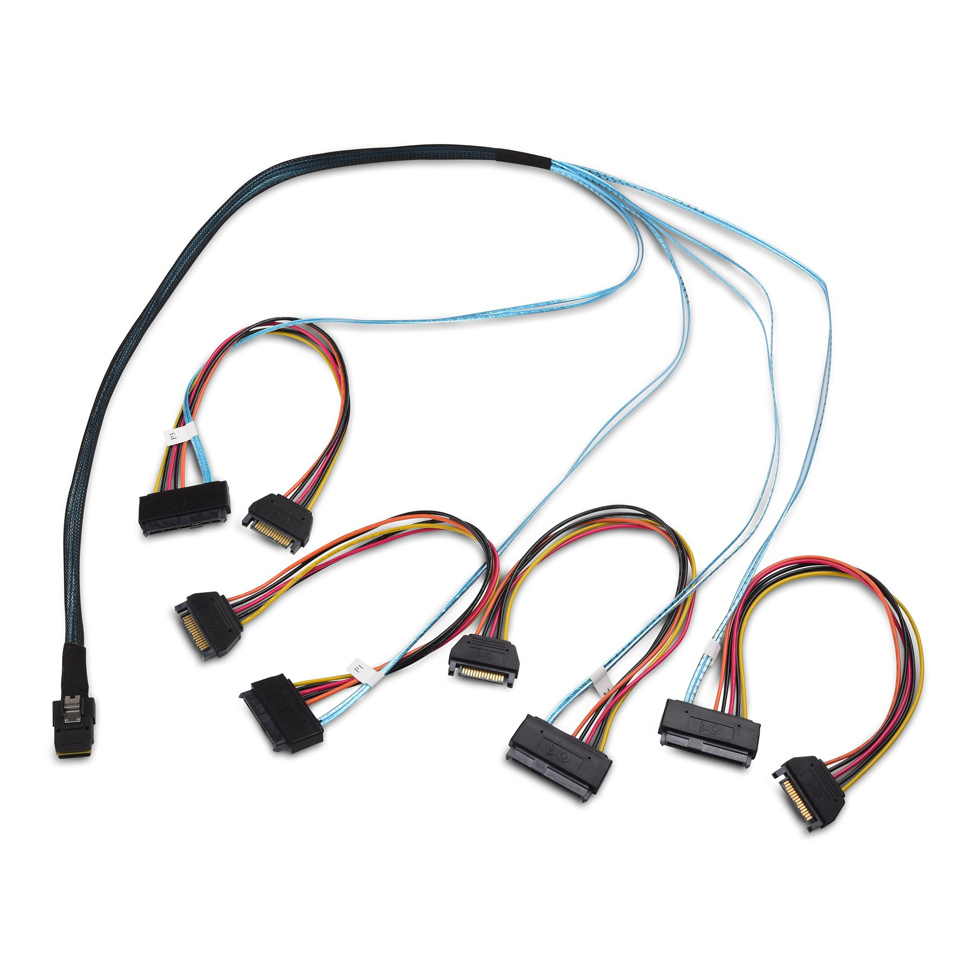 Cable Matters Internal Mini SAS to SAS Cable (SFF-8087 to SFF-8482) 3.3 Feet / 1m