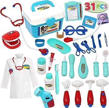 JOYIN Kids Pretend-n-Play Dentist Doctor Kit Toys