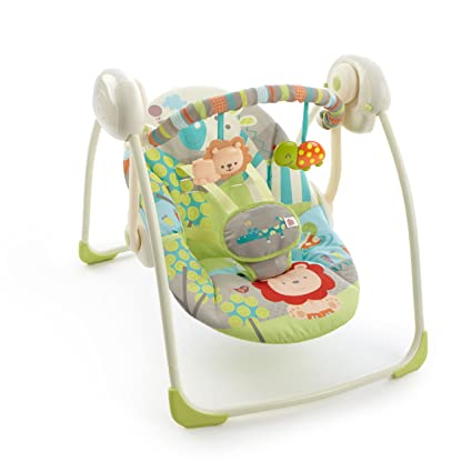 01e3ee96d9b7 Bright Starts Up Up and Away Swing  Amazon.co.uk  Baby