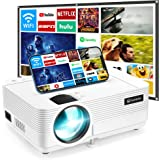 "VANKYO Leisure 470 Mini WiFi Projector w/ 100 Inch Projection Screen, Full HD 1080P & 250"" Display Supported, 2021 Upgraded M"
