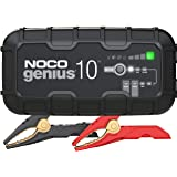 NOCO GENIUS10, 10-Amp Fully-Automatic Smart Charger, 6V And 12V Battery Charger, Battery Maintainer, And Battery…