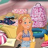 Summer Girl Camping Life