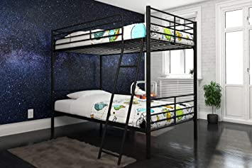 Amazon Com Dhp Tailor Convertible Bunk Bed Converts To Two Twin