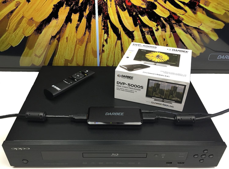 DarbeeVision DVP-5000S HDMI Video Processor w// HDMI Male to VGA Female Video ...