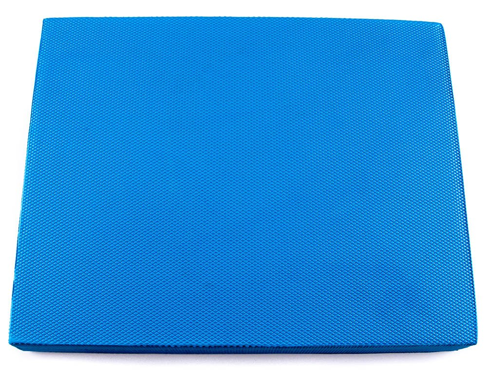 Functional Fitness Blau Soft Balance Pad - Includes (1) Blau Foam Balanced Body Pad measuring 19 inch x 16 inch x 3 inch