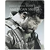 アメリカン・スナイパー ブルーレイ スチールブック仕様(数量限定生産/2枚組) [Blu-ray]
